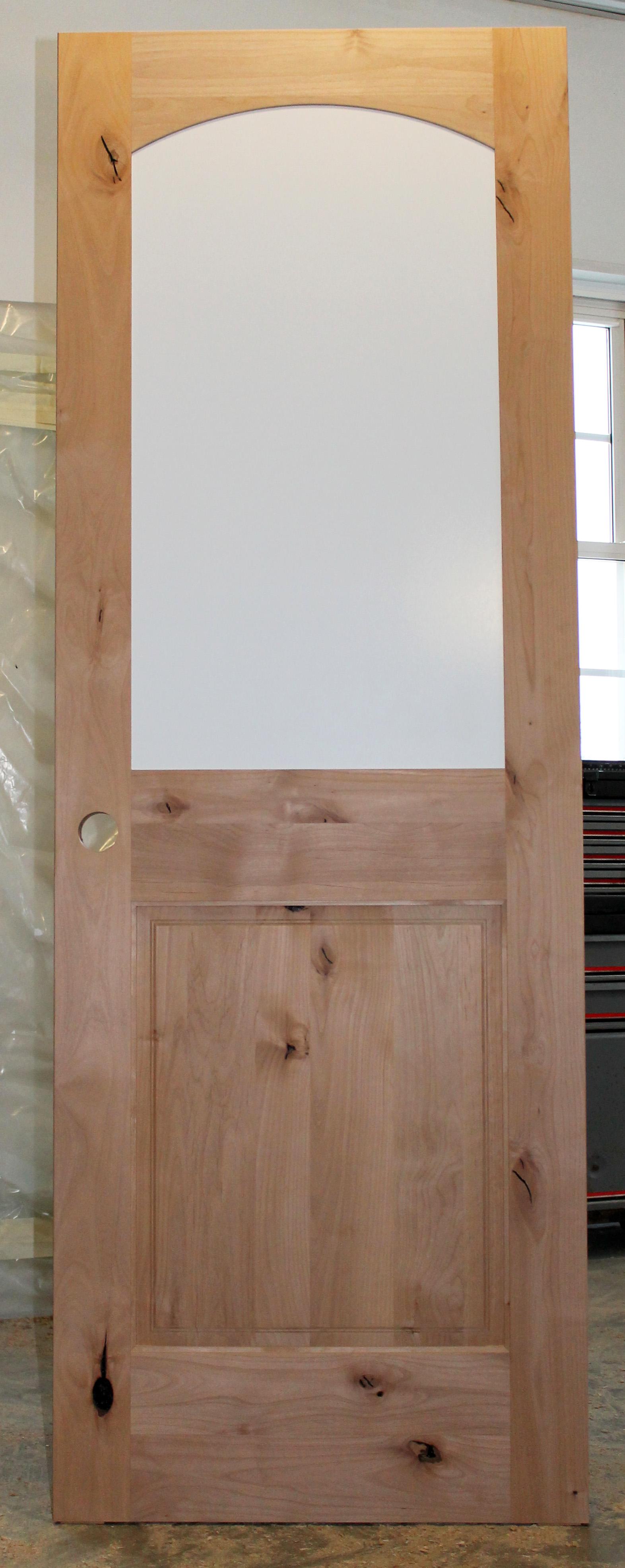 knotty door marvelous doors lite wood craftsman interior best prehung alder stained front